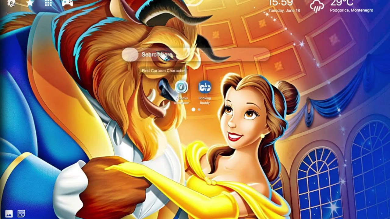 Beauty And The Beast Wallpaper Hd Youtube