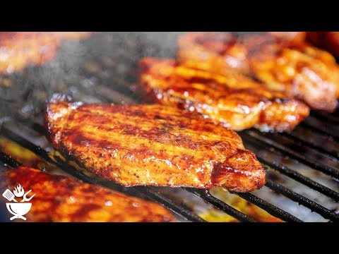 Smoked Pork Chops - On Pellet Grill
