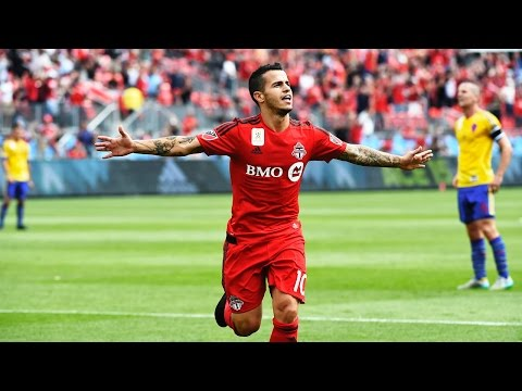 This gem from Giovinco in 2015 after playing for Italy the night before, and a 10 hour flight to Toronto to come off the bench...