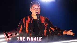 The Finals: Jordan Anthony sings 'This Is Me' | The Voice Australia 2019
