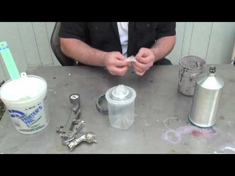 Using Fuji Mini Mite  To Paint A Car