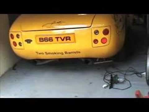 TVR Griffith 500 Flames