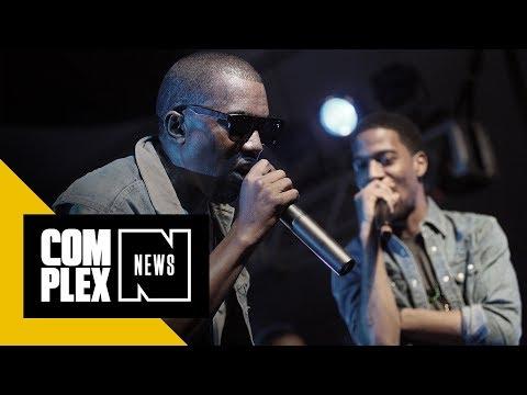 Kanye West and Kid Cudi's 'Kids See Ghosts' Debuts at No. 2