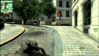 MW3: (First) Epic Double Throwing Knife Kill