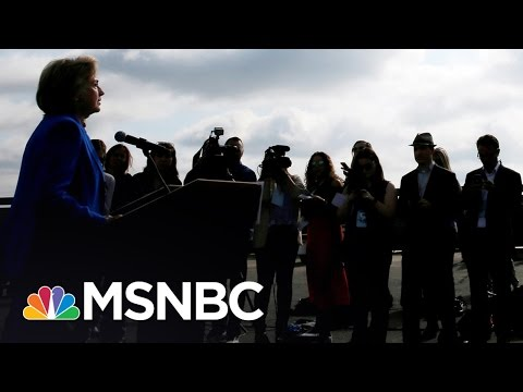 Hillary Clinton On The Offensive Following IAVA Forum  Andrea Mitchell  MSNBC