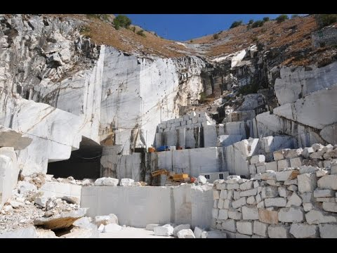 Carrara e le cave di marmo carrara and the marble for Marmo di carrara prezzo