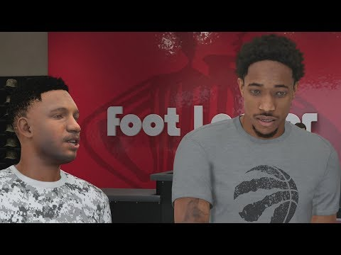 NBA 2K18 My Career - DeRozan at Foot Locker! PS4 Pro 4K Gameplay