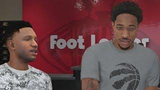 NBA 2K18 My Career - DeRozan at Foot Locker! PS4 Pro 4K Gameplay