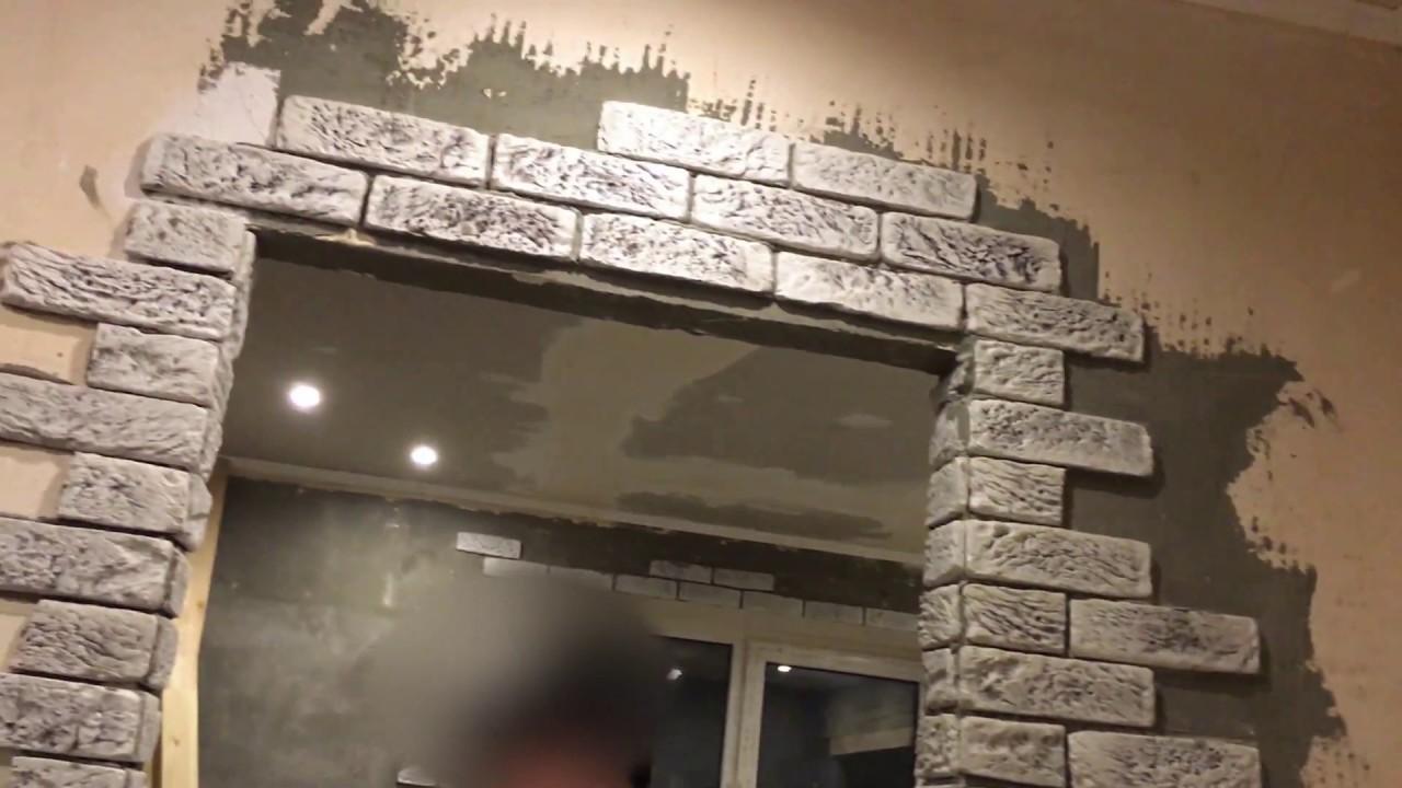 Как украсить дверной проем декоративной плиткой