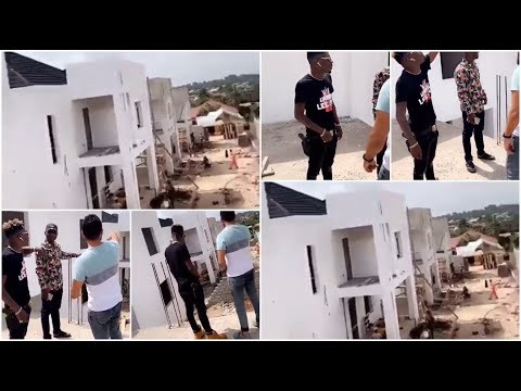 awesome…shatta-wale-insp.ect-his-new-pent-house-in-kumasi