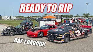 RACE WEEK 2.0, Day 1: Leroy Lines Up w/Blasphemi, Dale Truck NAILS IT, Ruby Has Big PROBLEMS!!