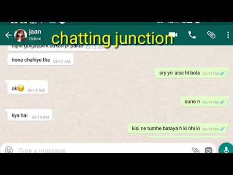 Late night girlfriend boyfriend whatsapp chat conversation YouTube