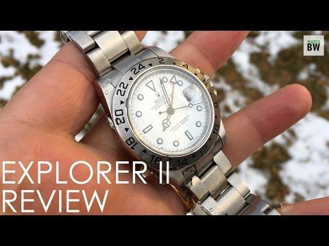 Rolex Explorer II Review 16570 Polar Explorer