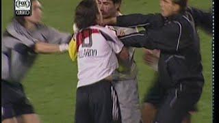 Boca 1 River 0 Copa Libertadores 2004 Semifinal Ida Resumen completo de Fox Sport Clásico
