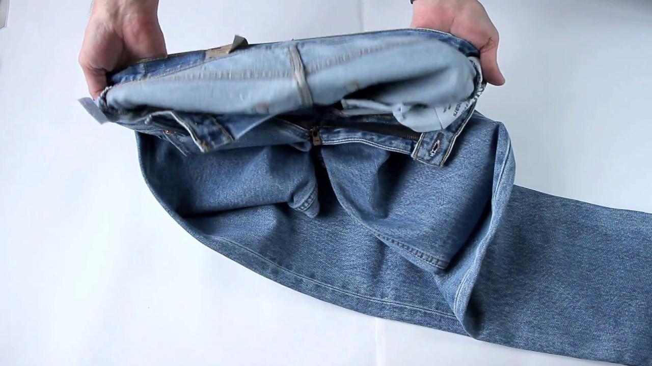 Посылка с Ebay джинсы Levis 501 - YouTube