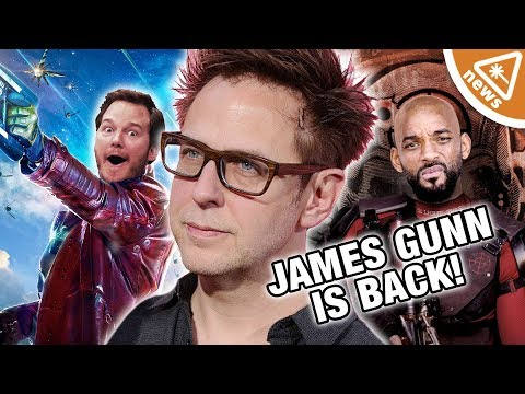 James Gunn Back for GOTG 3 - What Does This Mean for Suicide Squad? (Nerdist News w/ Jessica Chobot) Mp3