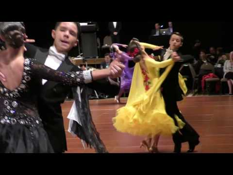 Junior Open Standard Final 2017 Crown Dance Championship