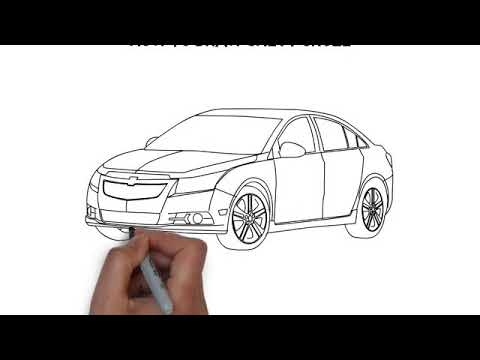 How To Draw Chevy Cruze