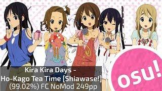 Jim0nQ (andikkc) | HO-KAGO TEA TIME - Kira Kira Days [Shiawase!!] (99,06%) FC NoMod 249pp
