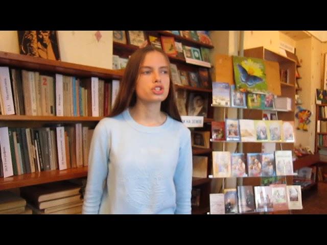 Изображение предпросмотра прочтения – ЕлизаветаБабичева читает произведение «Вчера еще в глаза глядел...» М.И.Цветаевой