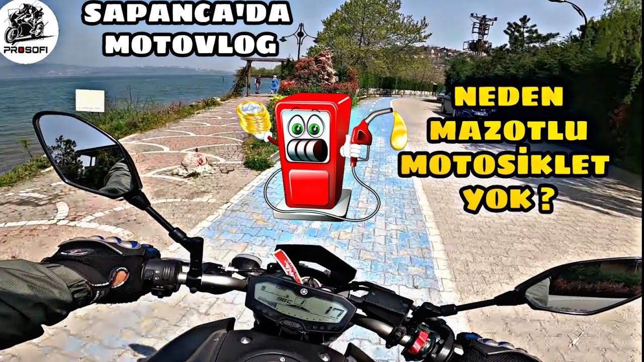 MAZOTLU MOTOSİKLET ?.. MT07 İLE SAPANCA'DA MOTOVLOG.. BENZİN VE DİZELİN GÜÇ FARKI