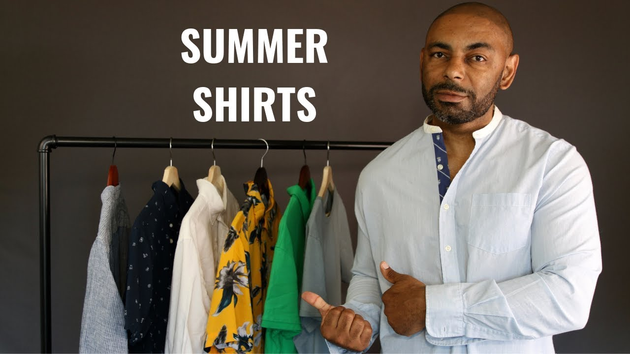 7 Summer Shirts Every Man Needs