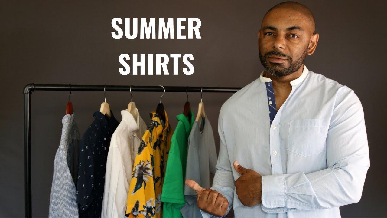 7 Summer Shirts Every Man Needs