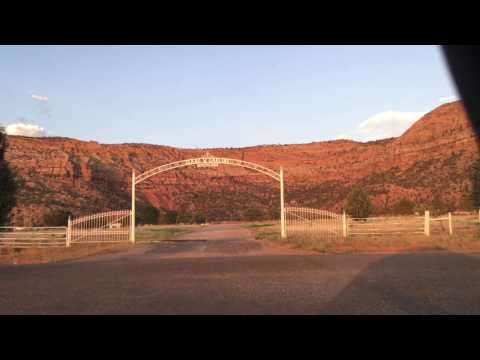 Driving tour of Colorado City & Centennial Park, Arizona.