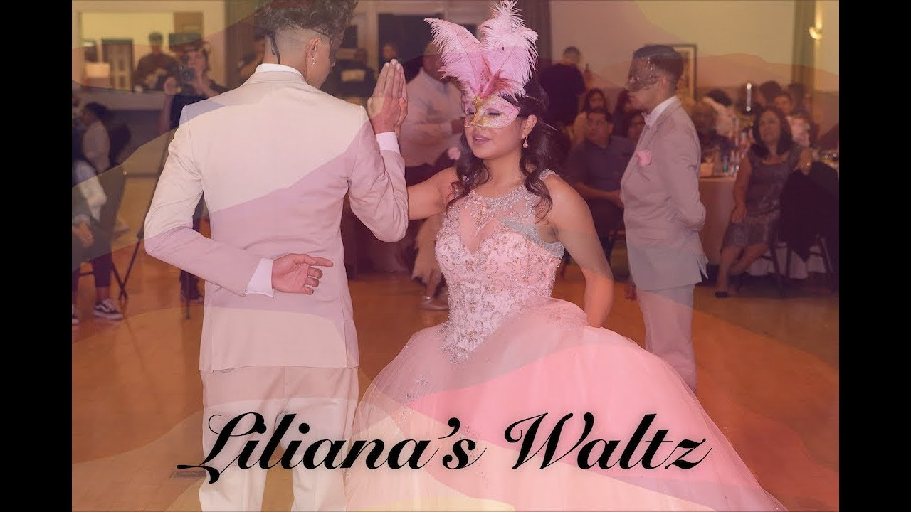 Quinceañera Waltz Dance Video   Roses and Violets Alexander Jean   LA  Quince 2018