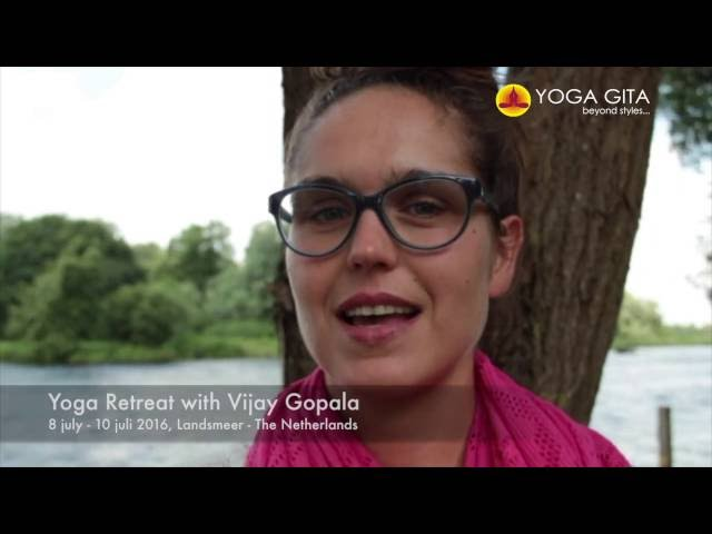 Yoga Gita testimonial by Manuela