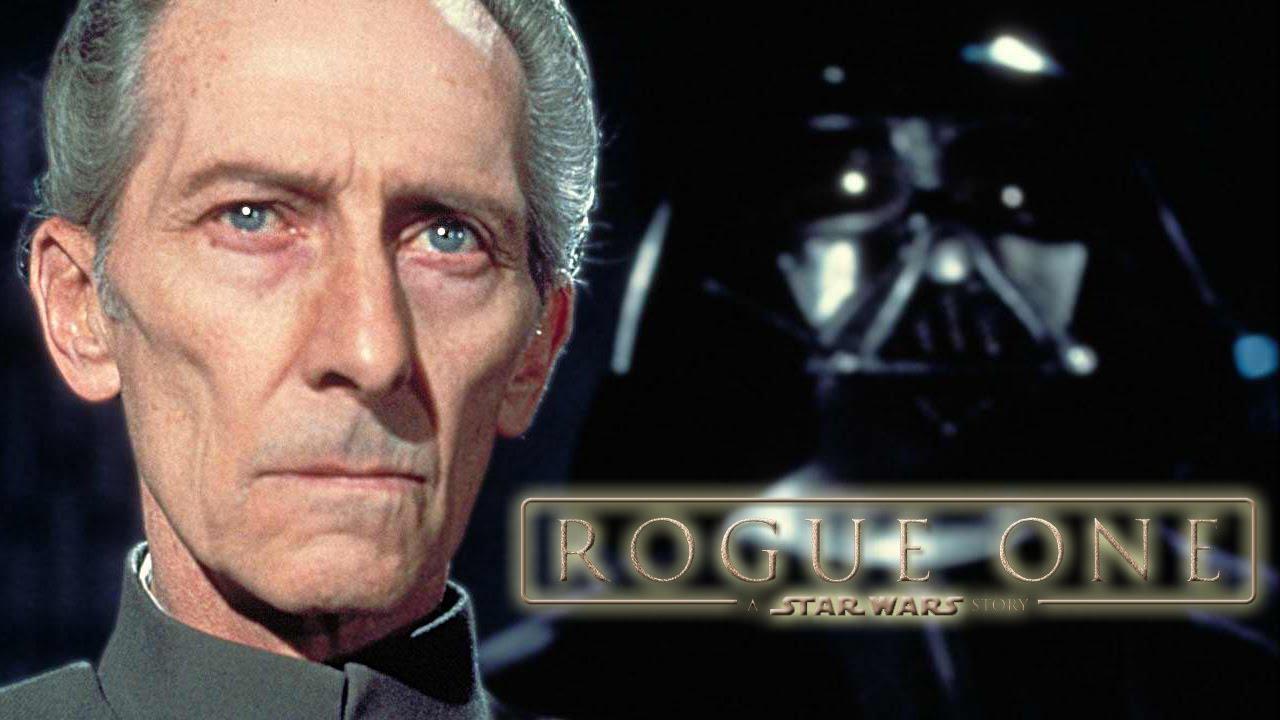 Star Wars Rogue One Rumored To Include CGI Peter Cushing YouTube - Scenes original star wars created cgi