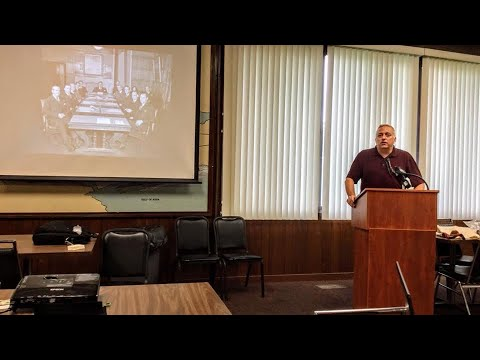 07-31-2018 Brad Cook of IU Archives gives Part 3 of his History of Indiana University