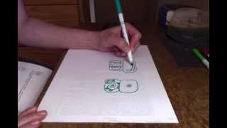 Drawing to Slow Down: Copying Maya Hieroglyphics 2