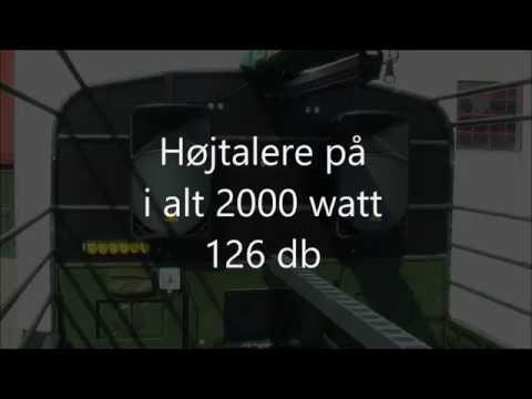 Højtalere på 2000 watt