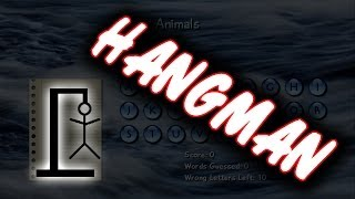 HangMan 360 Gameplay Commentary