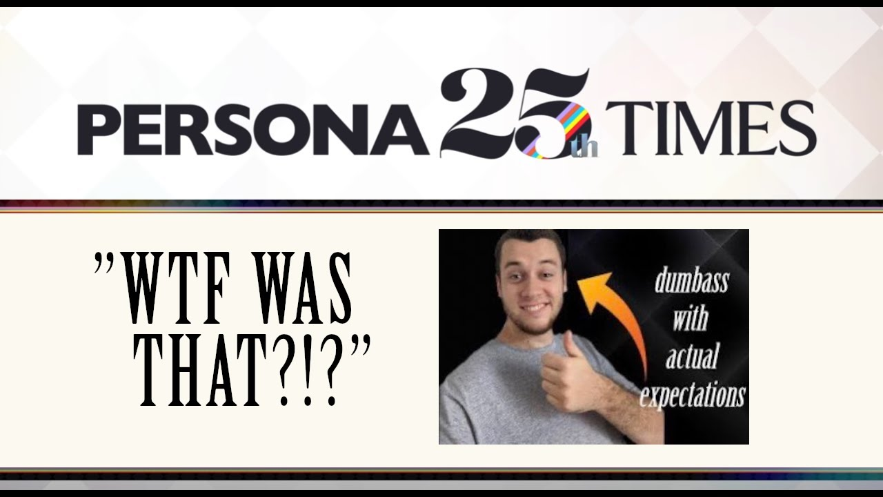 Download The September Announcement for the Persona 25th Anniversary IS HERE  Disappointment 101   DC News