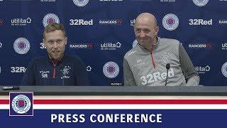 PRESS CONFERENCE | Gary McAllister & Scott Arfield | 21 Feb 2020