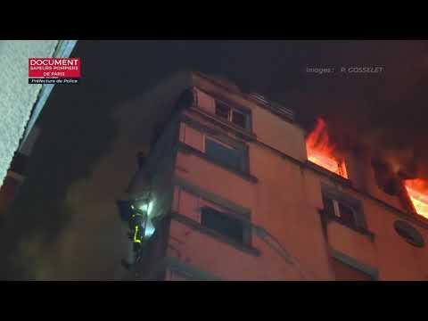 Arson suspected in deadly Paris fire