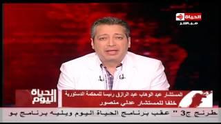 تامر أمين عن اعتصام صباحي بحزب الكرامة: فرد عضلات