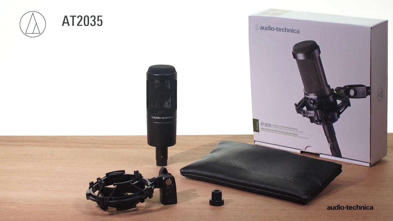Audio Technica AT2035 Mikrofon Mikrofon Komplett.no