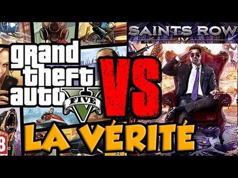 Gta 5 vs saints row 4