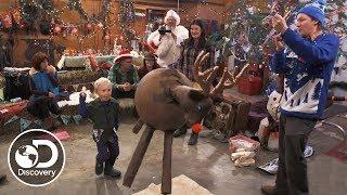 Kilcher Christmas Piñata | Alaska: The Last Frontier