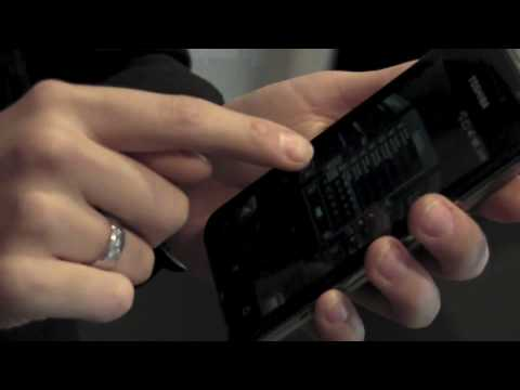 We take a look at the Toshiba TG02 at Mobile World Congress 2010
