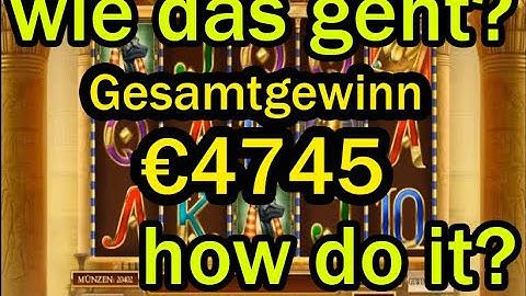 Book of dead Gesamtgewinn €4745! Grosser Gewinn!