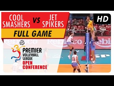 Cool Smashers vs. Jet Spikers | WV Full Game | 2nd Set | PVL Open Conference | July 9, 2017