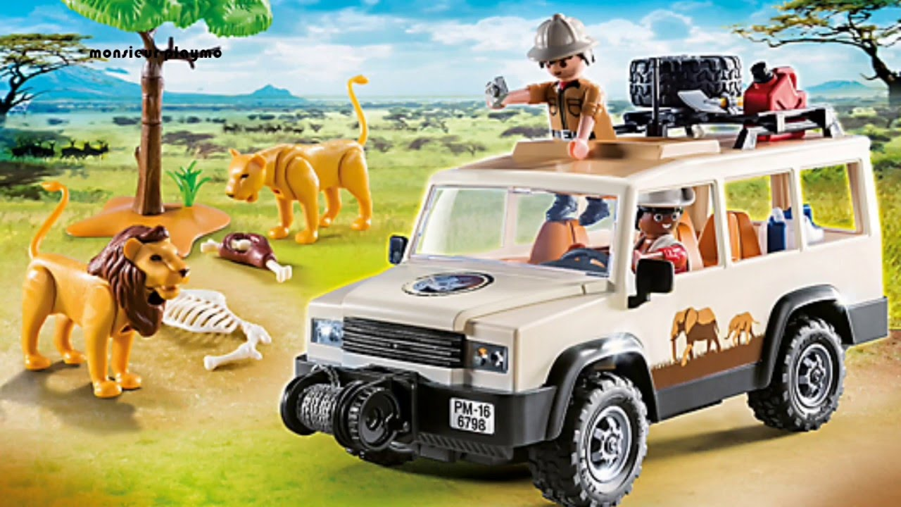 playmobil safari 2017 le safari africain die gro e tierwelt afrikas safari youtube. Black Bedroom Furniture Sets. Home Design Ideas