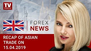 InstaForex tv news: 15.04.2019: USD inches down as new trading week starts (USD, JPY, AUD, RUB)