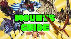 ALL FFXIV MOUNTS & How to Get Them!
