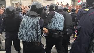Сопротивление задержанию в Петербурге