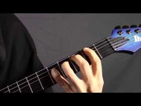 Technicalized Power Chords with TAB - 2nd & 4th Fingers Death Metal ...
